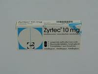 ZYRTEC 10 MG COMP PELL 7 X 10 MG