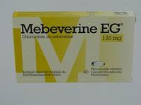 MEBEVERINE EG 135 MG COMP PELL 40 X 135 MG