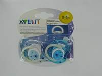 AVENT SUCETTE SILICONE NUIT     +3M 2