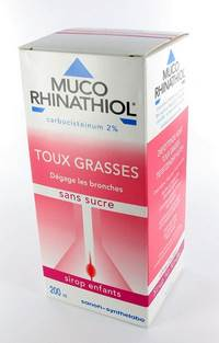 MUCO RHINATHIOL 2% SIR INF S/SUCRE 200ML