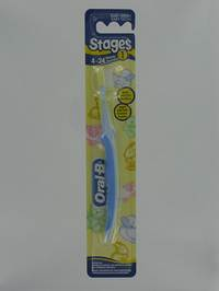 ORAL B BROSSE STAGES 1 4-24MOIS