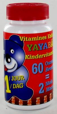 YAYABAR MULTIVITAMINES OURSONS BONBONS 60