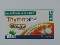 THYMO TABS ORANGE   PAST A SUCER 24