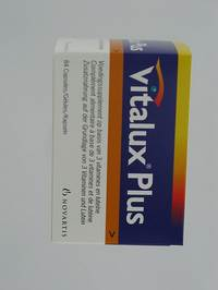 VITALUX PLUS                    CAPS 84