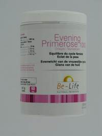 EVENING PRIMROSE 1000 BE LIFE BIO         CAPS  60