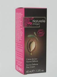 NATURELLE D ARGAN CR JOUR SOURCE DEFENCE BIO  40ML