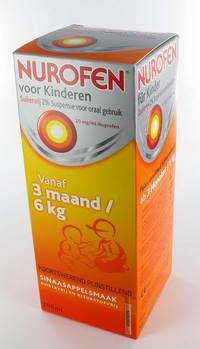 NUROFEN ENFANT ORANGE SUSP SANS SUCRE 200 ML