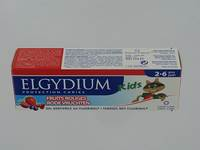 ELGYDIUM KIDS DENTIFRICE FRUITS ROUGES 2-6ANS 50ML