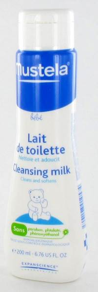 MUSTELA PS LAIT DE TOILETTE FL 200ML