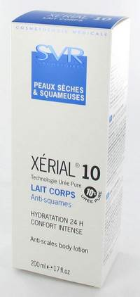 XERIAL 10 LAIT CORPS NF  TUBE 200ML