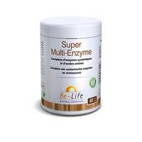 SUPER MULTI-ENZYMES BE LIFE NF POT GEL 60