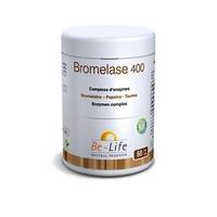 BROMELASE 400 ENZYMES BE LIFE NF       POT GEL  60