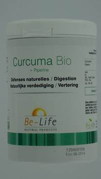CURCUMA 2400 + PIPERINE BIO BE LIFE        GEL  60