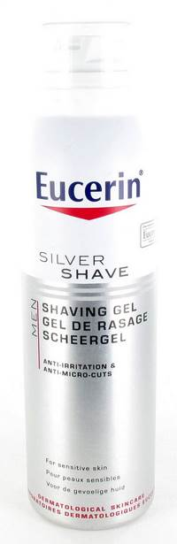 EUCERIN MEN SILVER SHAVE GEL DE RASAGE     150ML