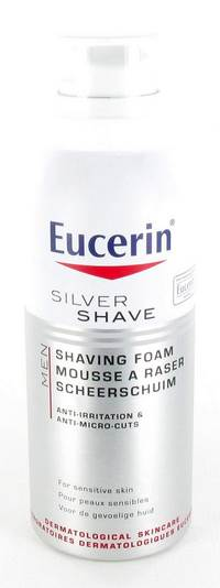 EUCERIN MEN SILVER SHAVE MOUSSE A RASER    150ML