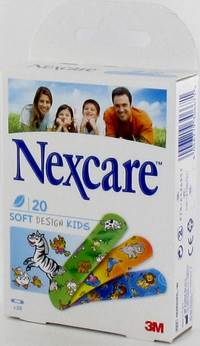 NEXCARE 3M SOFT DESIGN KIDS ASSORT.20