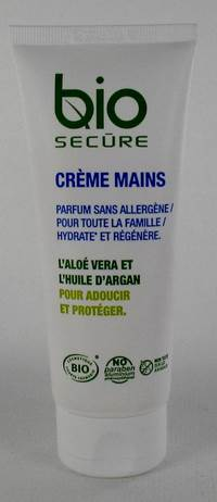 BIO SECURE CREME MAINS BIO  TUBE 100ML