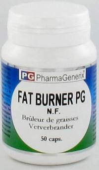 FAT BURNER PG PHARMAGENERIX NF      CAPS  50