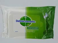 DETTOLCOSMETIC LINGETTES HYGIENIQUES 1X15