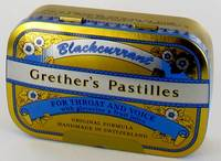 GRETHER'S PASTILLES BLACKCURRANT PAST 110G