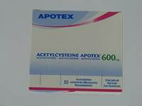 ACETYLCYSTEINE APOTEX COMP EFF 30 X 600 MG