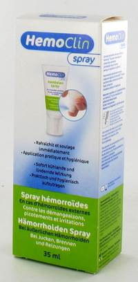 HEMOCLIN SPRAY HEMORROIDES 35ML